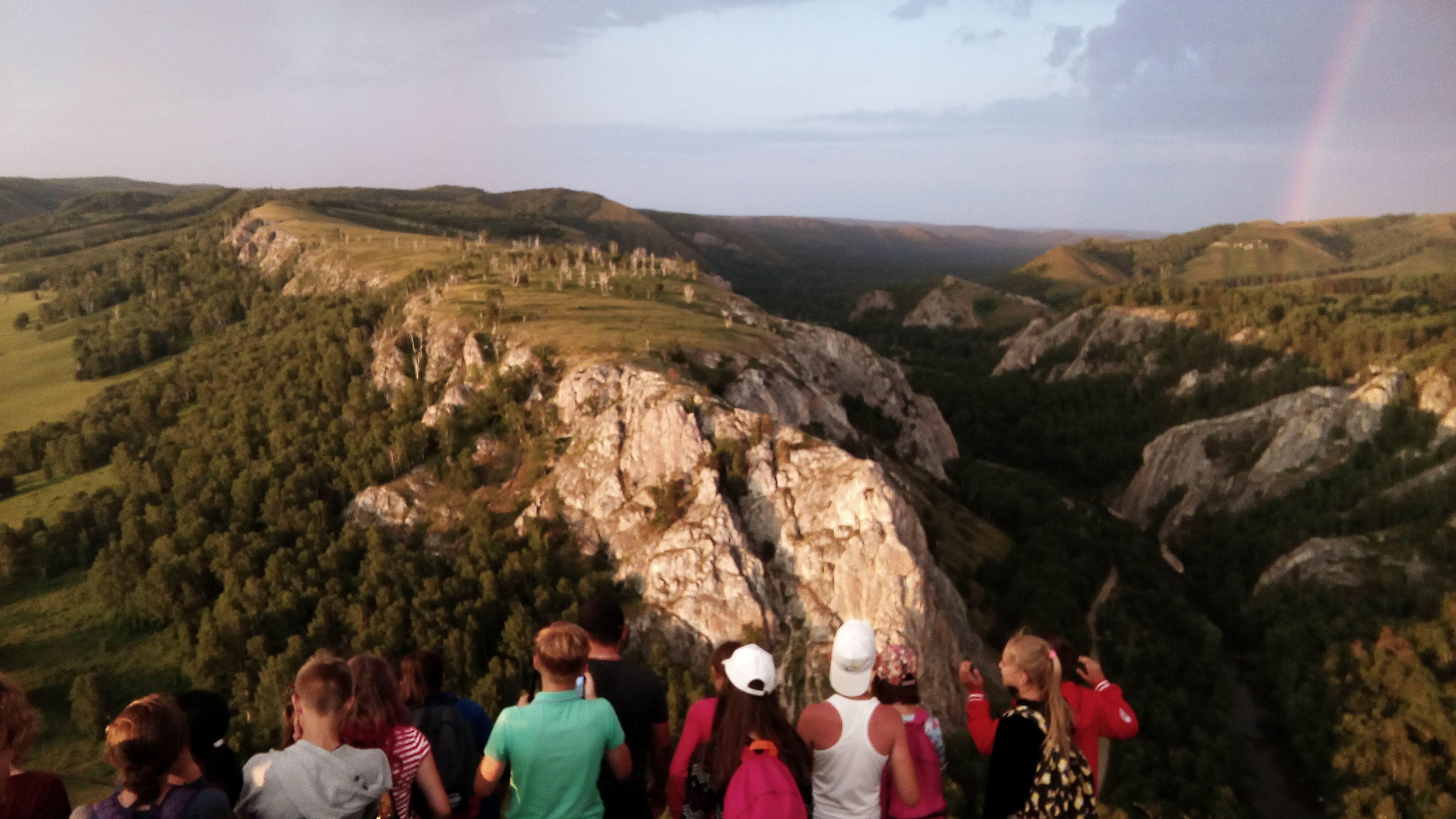 Поход на гору и в пещеру в Мурадымово