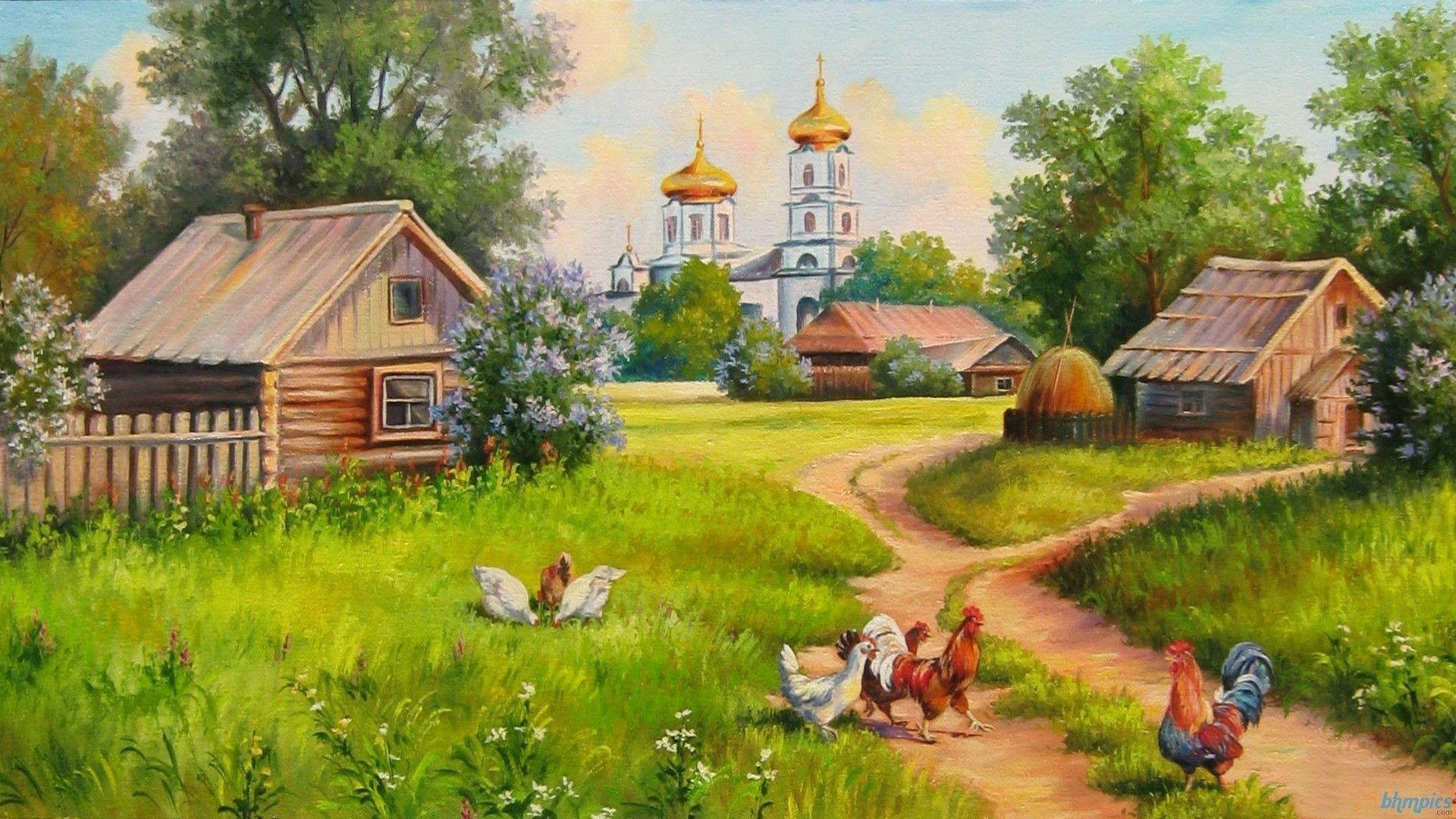 Люблю я деревню