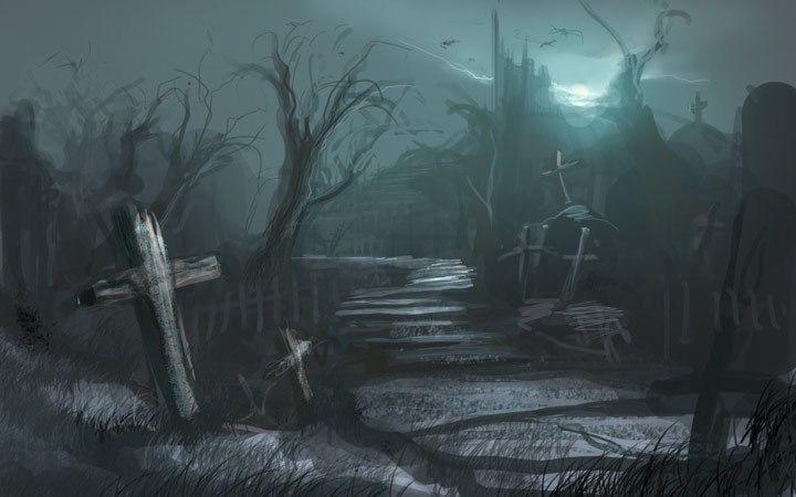 Ночь. Кладбище. Последствия.