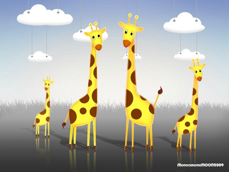 История создания семейства Жирафовых