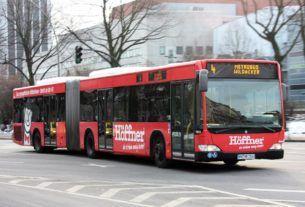 транспорт в Гамбурге (Германия), автобусы, метро и т.д. — часть 1