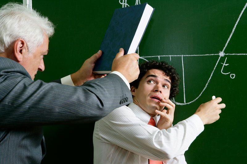 Репрессии от преподавателя