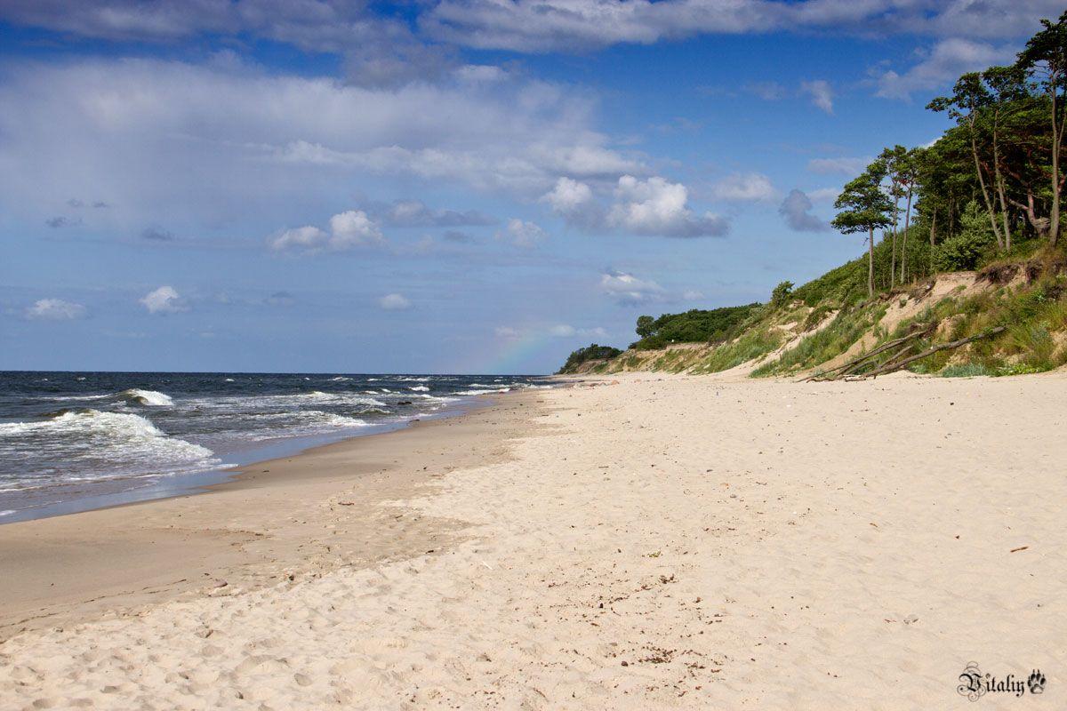 Балтийский берег. Романтика и любовь