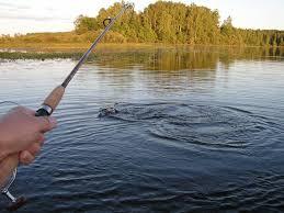 Я на рыбалке.