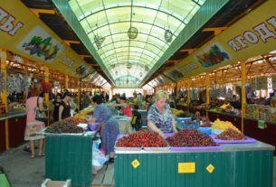 Воры на рынке в Сочи