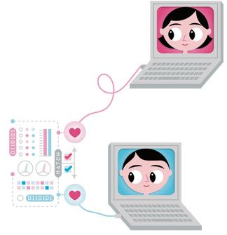 Первая любовь в интернете