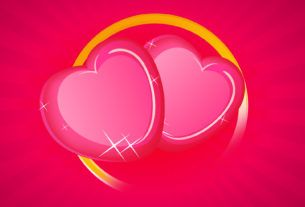 Любовный треугольник в день святого валентина