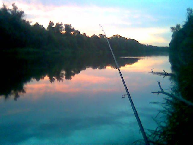 Рыбалка с любимым человеком