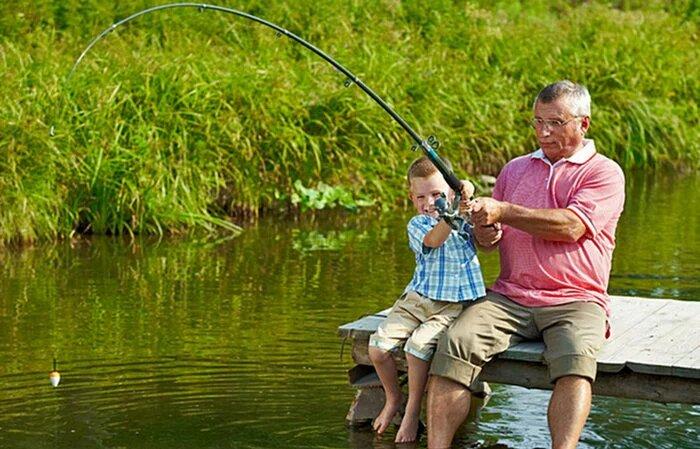 Происшествие на рыбалке.