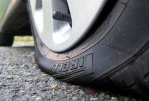 Хорошо, что я сегодня пробил колесо