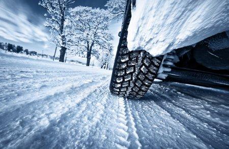 Занесло машину зимой