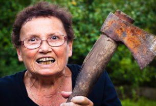 Сумашедшая бабка