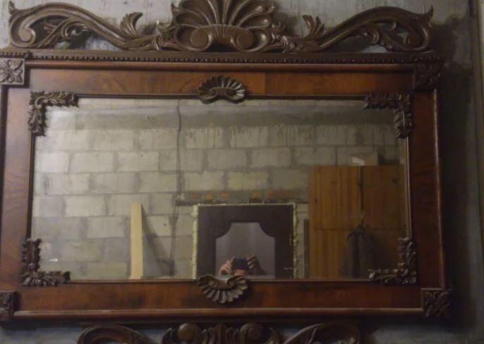 Зеркало с помойки