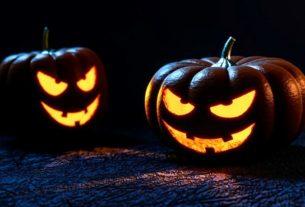 Хэллоуин на проклятой улице.