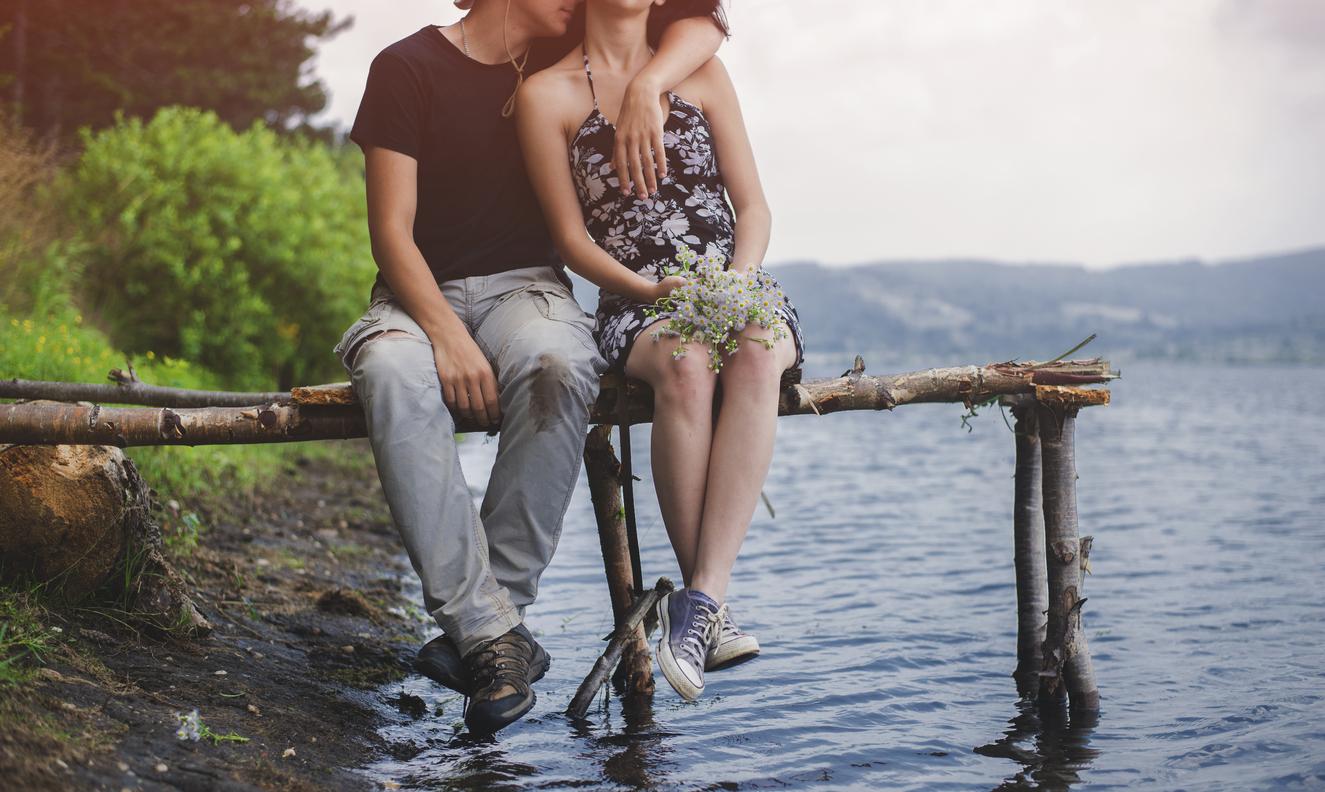 Первая любовь. Виктор и Полина