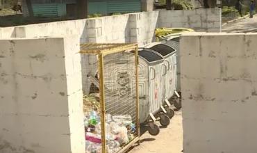 Труп в мусорном контейнере