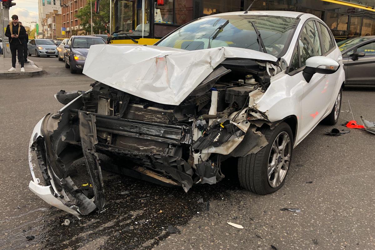 Моя первая авария